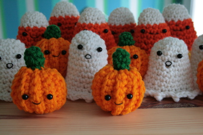 Free Crochet Patterns For Halloween : Crochet Halloween 2008 Create!